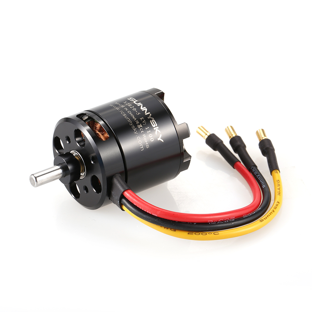 SUNNYSKY X2820 1100KV 3 5S Brushless Motor For RC Airplane Sailplane Aerobatic Fixed Wing Drone
