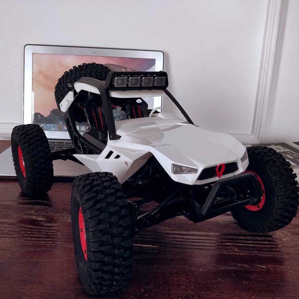 White Wltoys Xk 12429 1 12 Rc Car Crawler 40km H 4wd 2 4g