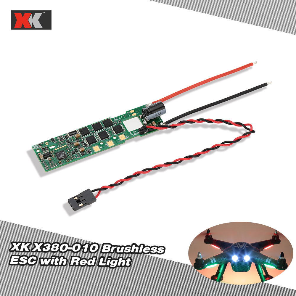 Electronic Speed Control Light Wiring Diagram And Ebooks Router Circuit Original Xk X380 010 Brushless Esc Controller With Rh Rcmoment Com 1964 Vw Beetle Heat
