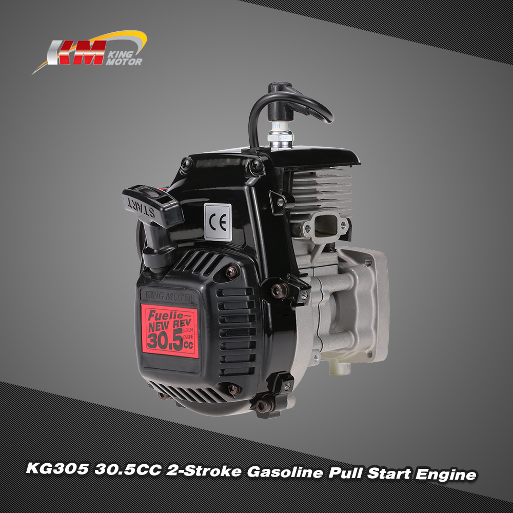 Original King Motor Kg305 305cc 2 Stroke Gasoline Pull Start Engine Rc Car Gas Wiring Diagram For 1