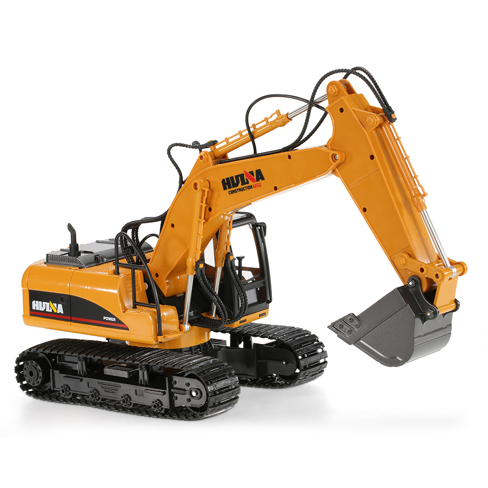 Hui Na Toys 2 4ghz 15ch Engineering Electric Excavator Construction