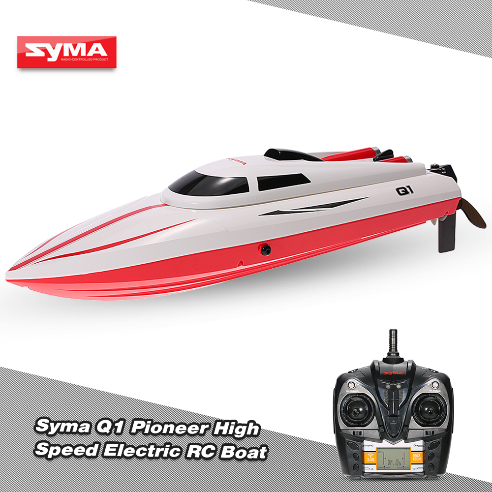 Original Syma Q1 Pioneer 2 4g 2ch Remote Control 180 Flip High Speed Electric Rc Boat Kids Gifts Rcmoment Com