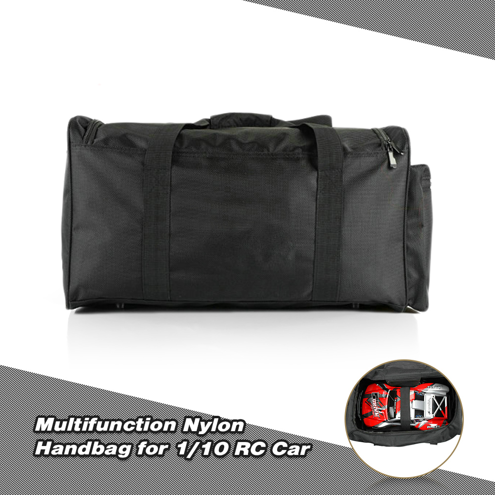 1 10 RC Car Handbag Multifunction Carrying Storage Bag For Redcat Rock Crawler Monster Truck Off Road Buggy Flat Drifting Cars