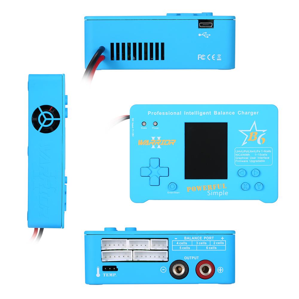 WARRIOR B6 CPUD 150W LiPo Li-ion LiFe NiMH NiCd Pb Battery ...