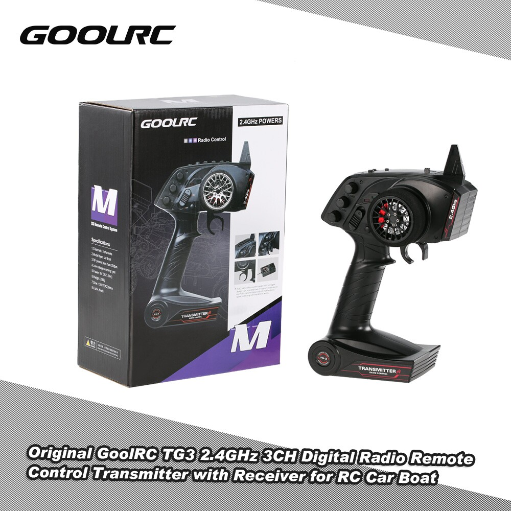 Original Goolrc Tg3 2 4ghz 3ch Digital Radio Remote