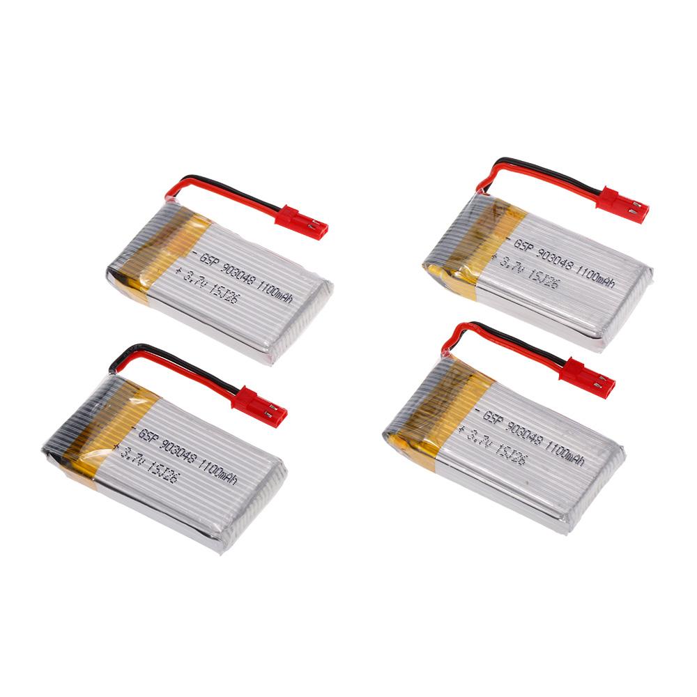 4 en 1 cargador con la bater a de 4pcs 3 7v 1100mah lipo - Cargador de baterias ...