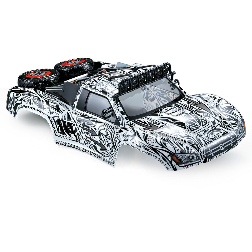 #1 KillerBody 48062 327mm Short Course Truck Finished Body Shell Frame for  1/10 Traxxas HPI AE RC Drift Racing Car DIY - RcMoment com