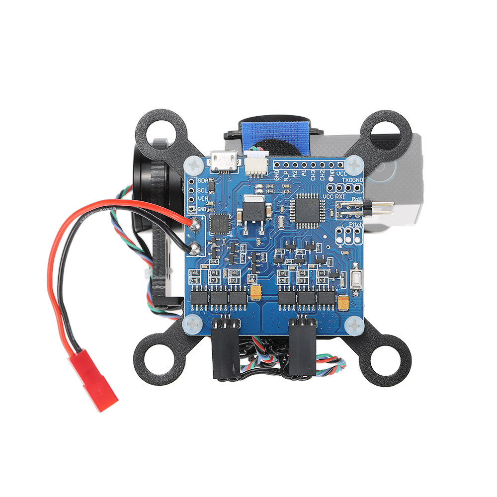 Aluminum Alloy 2 Axis Brushless Gimbal with BGC2.2 Control Panel for ...