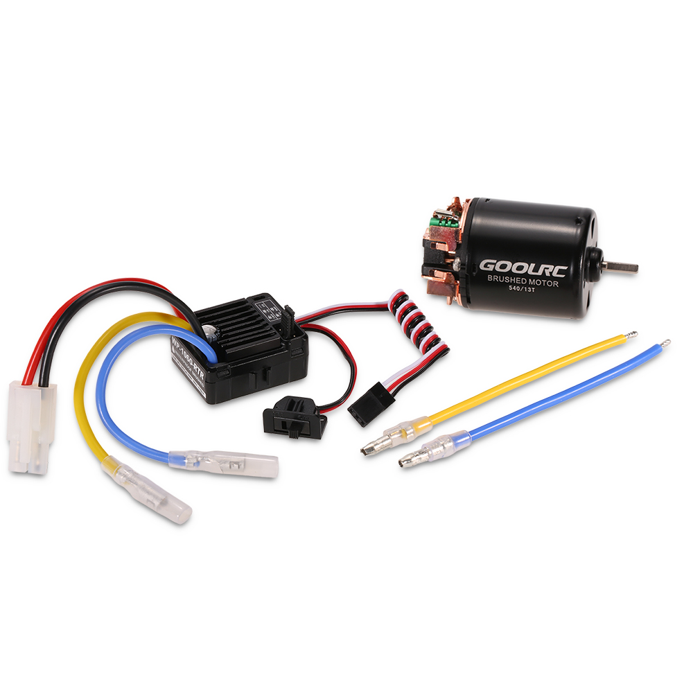 10 Rc Car Wiring Wire Center Schematic Goolrc 540 13t Brushed Motor With 60a Esc Combo For 1 Traxxas Rh Rcmoment Com Nitro Servo Diagram