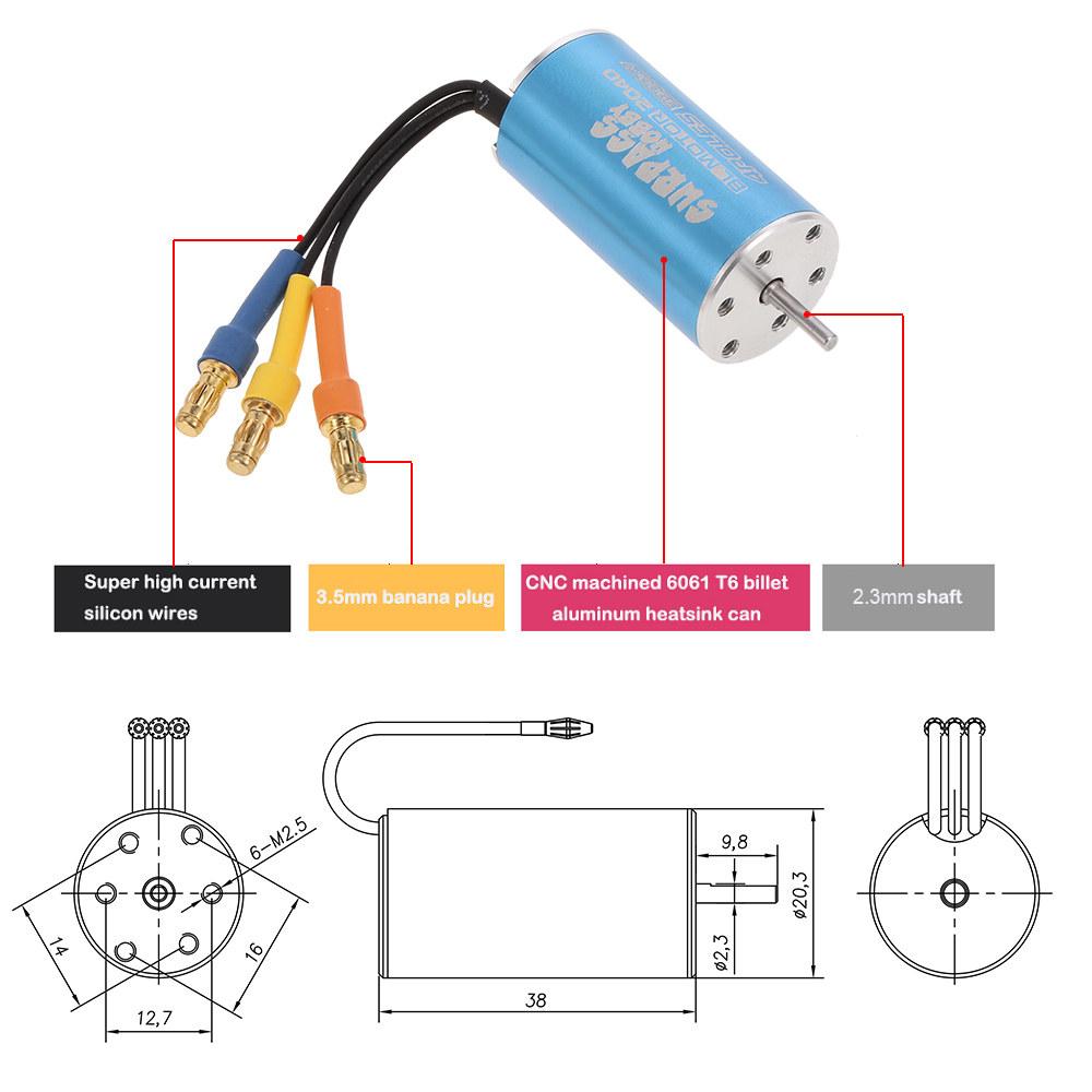Brushless Motor Wiring Diagram