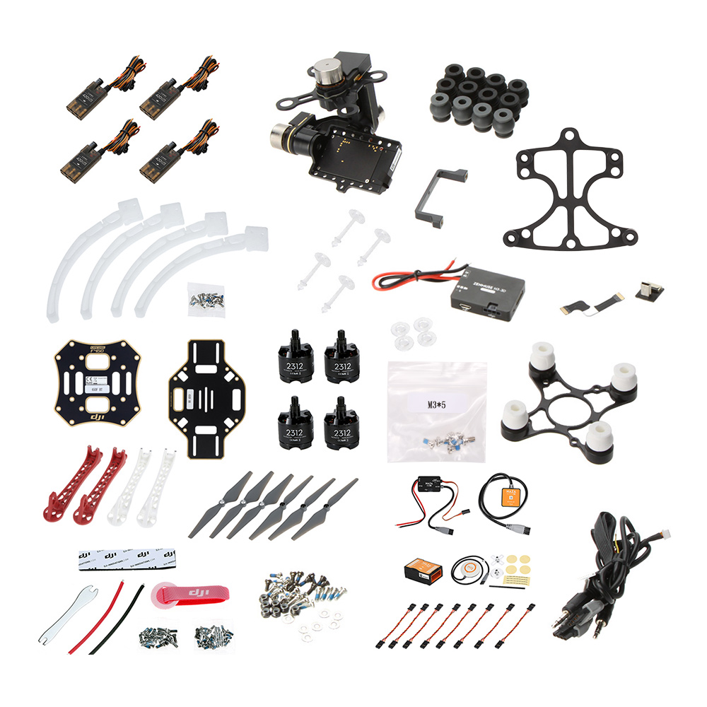original dji flame wheel f450 arf quadcopter frame kit with naza m v2 landing gear mounting adapter zenmuse h3 3d 3 axis gimbalstandard - Dji F450 Frame