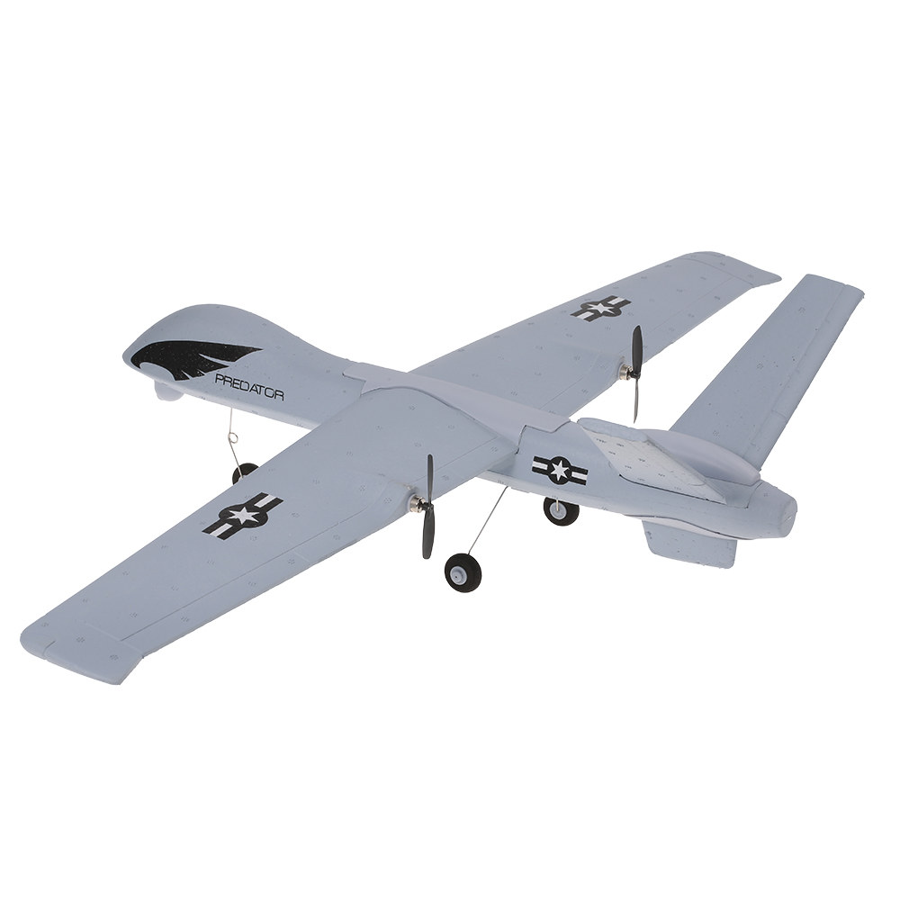 white Z51 2 4G 2CH Predator Remote Control RC Airplane 660mm Wingspan Foam  Hand Throwing Glider Drone - Rcmoment com