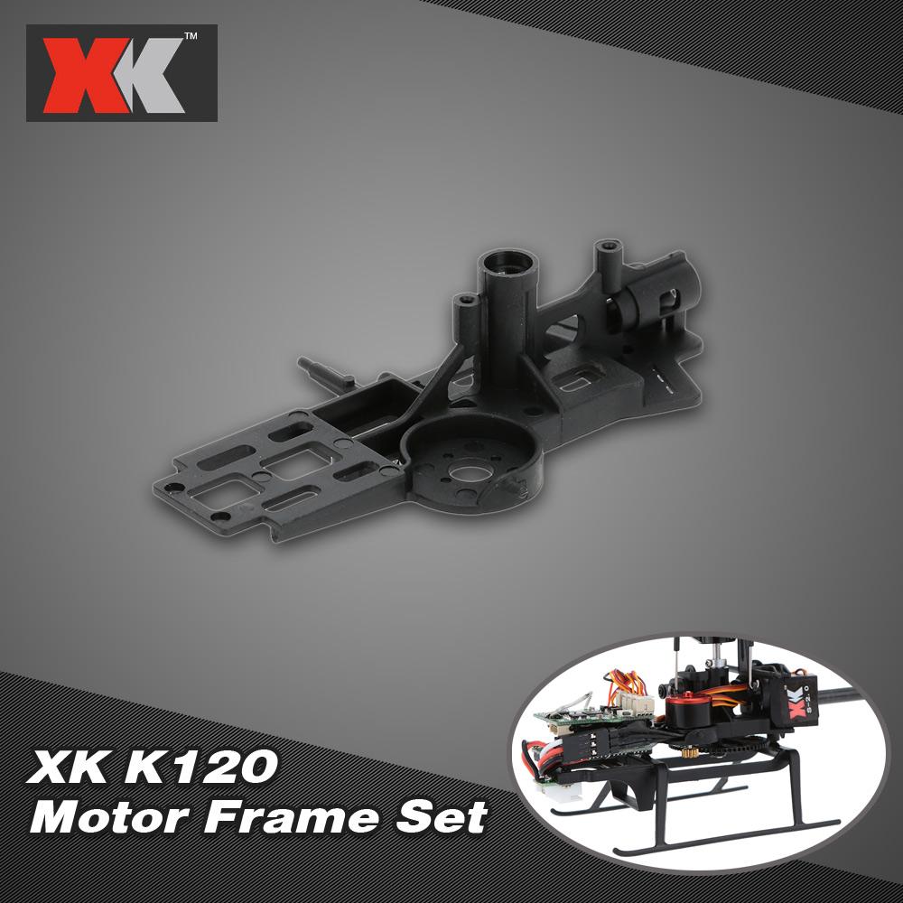 Elicottero 007 : Xk k120 rc elicottero parte k120 007 corredo di telaio di motore