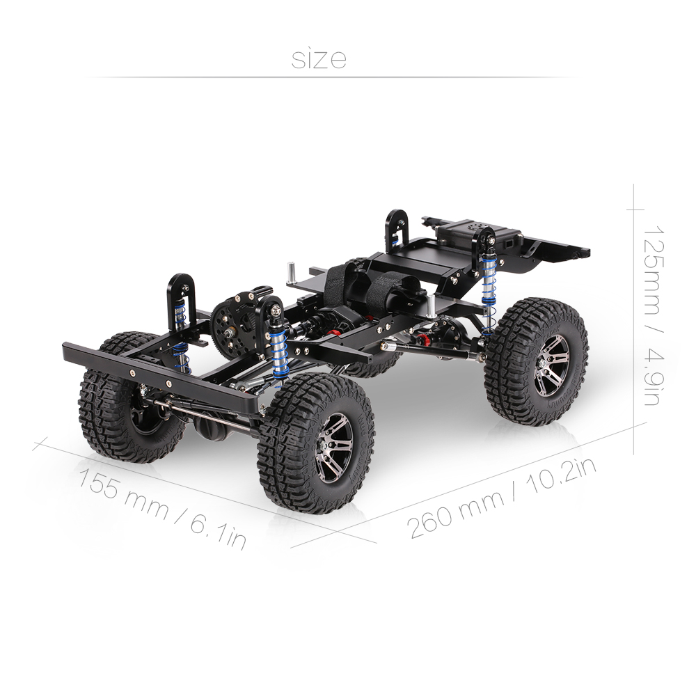 Get $10 Off For AX-D9001 All metal CNC Frame forRC Car KIT  with code  Only $299.99 +free shipping