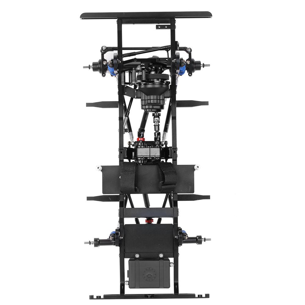 AX-D9001 Alle Metall CNC Rahmen für 1/10 D90 Felsen Crawler RC Auto ...