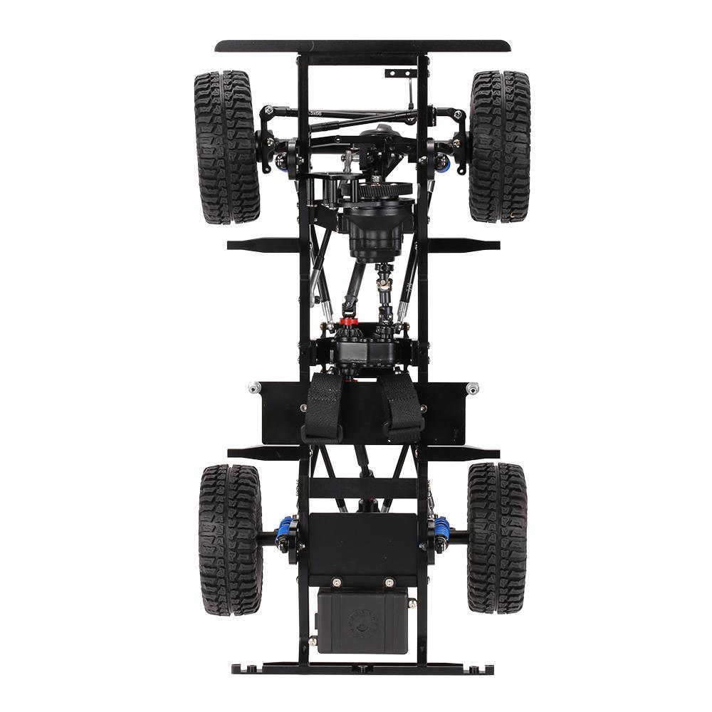 AX-D9001 All metal CNC Frame for 1/10 D90 Rock Crawler RC Car KIT ...