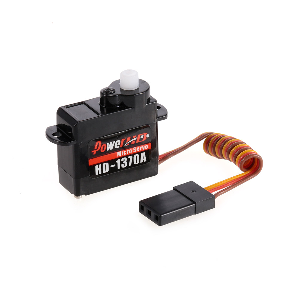 Power HD HD-1370A Analog Micro Servo for Mini EPP Airplane RC Aircraft-  RcMoment com