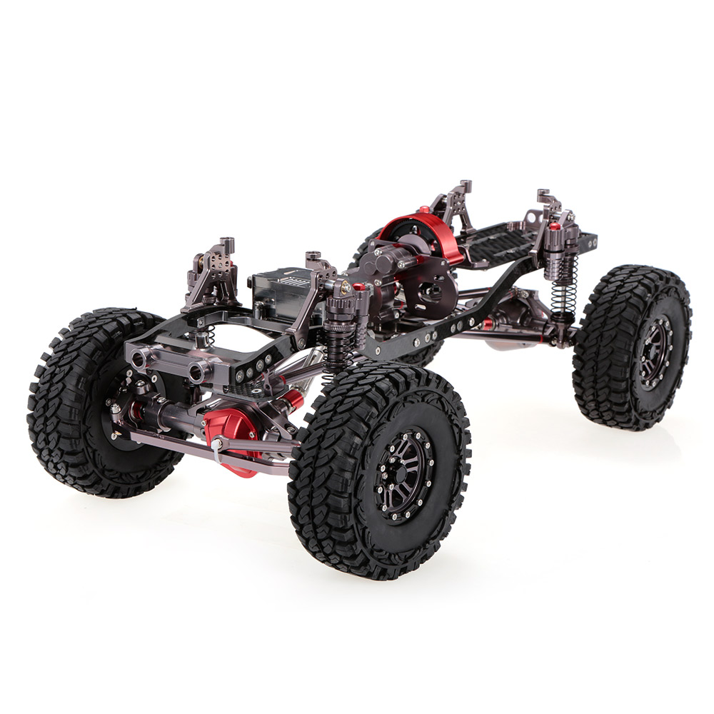1/10 Cool Racing CNC Aluminum and Carbon Frame AXIAL SCX10 Chassis ...