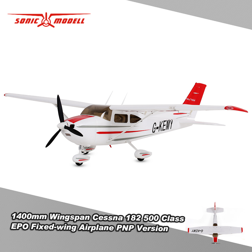 Original Sonicmodell 1400mm Wingspan Cessna 182 500 Cl EPO ... on 3d aerobatics, casa c-295 aircraft, vintage ww1 aircraft, remote control aircraft, scale model, horizon hobby, future experimental aircraft, futaba rc, flying wing aircraft, park flyer, model engine glow plug, dc-3 aircraft, rc aircraft wing design, almost ready to fly, academy of model aeronautics, ec 135 aircraft, 1 4 scale aircraft, control line, rc ultralight aircraft, rc aircraft engines, ready to fly, model rocket, rc vtol aircraft, rc-135 aircraft, rc flight simulator, radio-controlled glider, c-130 aircraft, b-25 bomber aircraft, se5a aircraft, free flight, cox model engines, radio-controlled model, rc plane female models, t38 aircraft, rc military aircraft, predator drone aircraft, herpa wings,