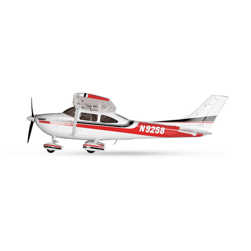 original sonicmodell 1400mm wingspan cessna 182 500 classe epo avion voilure fixe pnp version. Black Bedroom Furniture Sets. Home Design Ideas