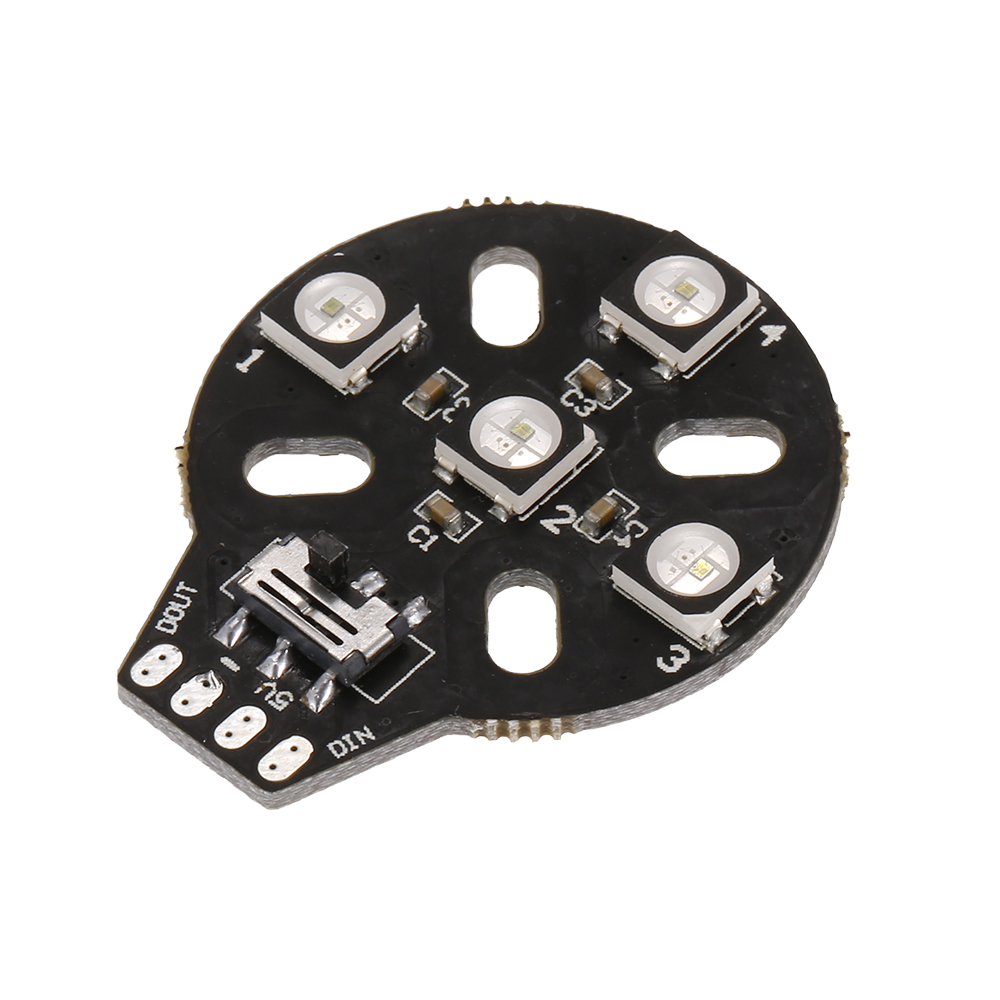 Parts & Accessories Remote Control Toys 4pcs Ws2812b 5v 5050 Rgb Motor Base Led Light Board For Rc Racing Quadcopter Drone Naze32 F3 Cc3d Led Flight Control