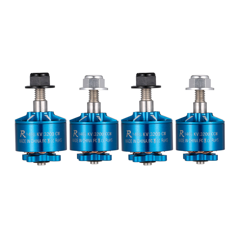 Get 4 USD Off For 4pcs 2-4S CW/CCW Brushless Motor Kit with code  Only $48.99 +free shipping