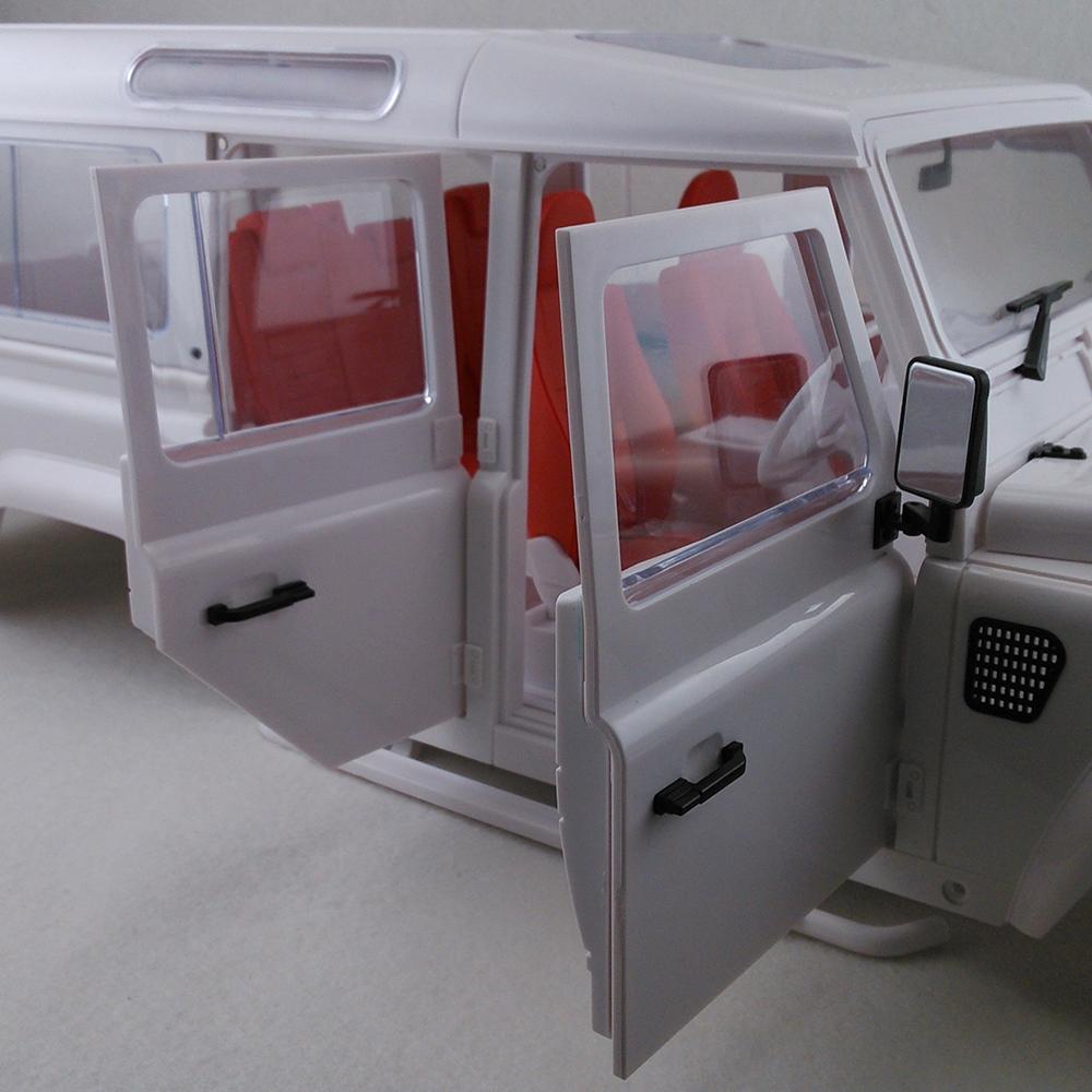 161001A Hartplastik Auto Shell Body DIY Kit für 334mm Radstand 1/10 ...