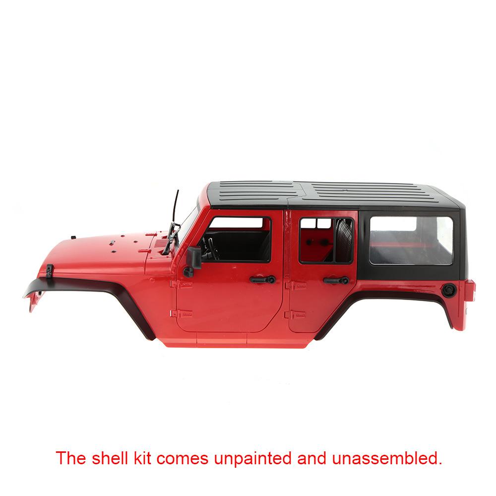 kit bricolage en plastique dur de corps de shell de voiture pour l 39 empattement 313mm 1 10 axial. Black Bedroom Furniture Sets. Home Design Ideas