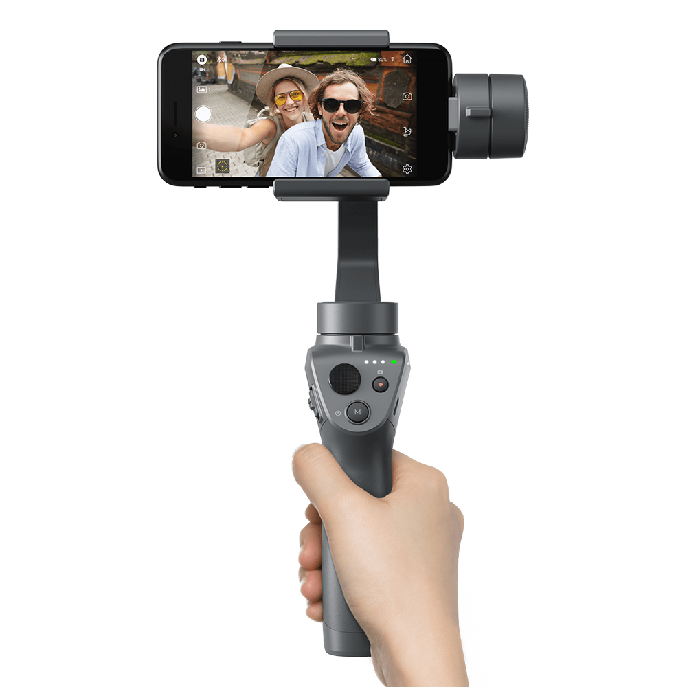 Get  $22 Off For DJI OSMO MOBILE 2 3-Axis Handheld Brushless Gimbal Stabilizer for Smart Phone iPhone Samsung with code  Only $169.99 +free shipping