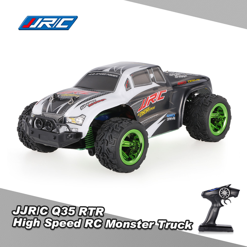 black JJRC(JJR/C)Q35 2.4GHz 4WD 1/26 Electric RTR High Speed Monster Truck  RC Car - RcMoment.com