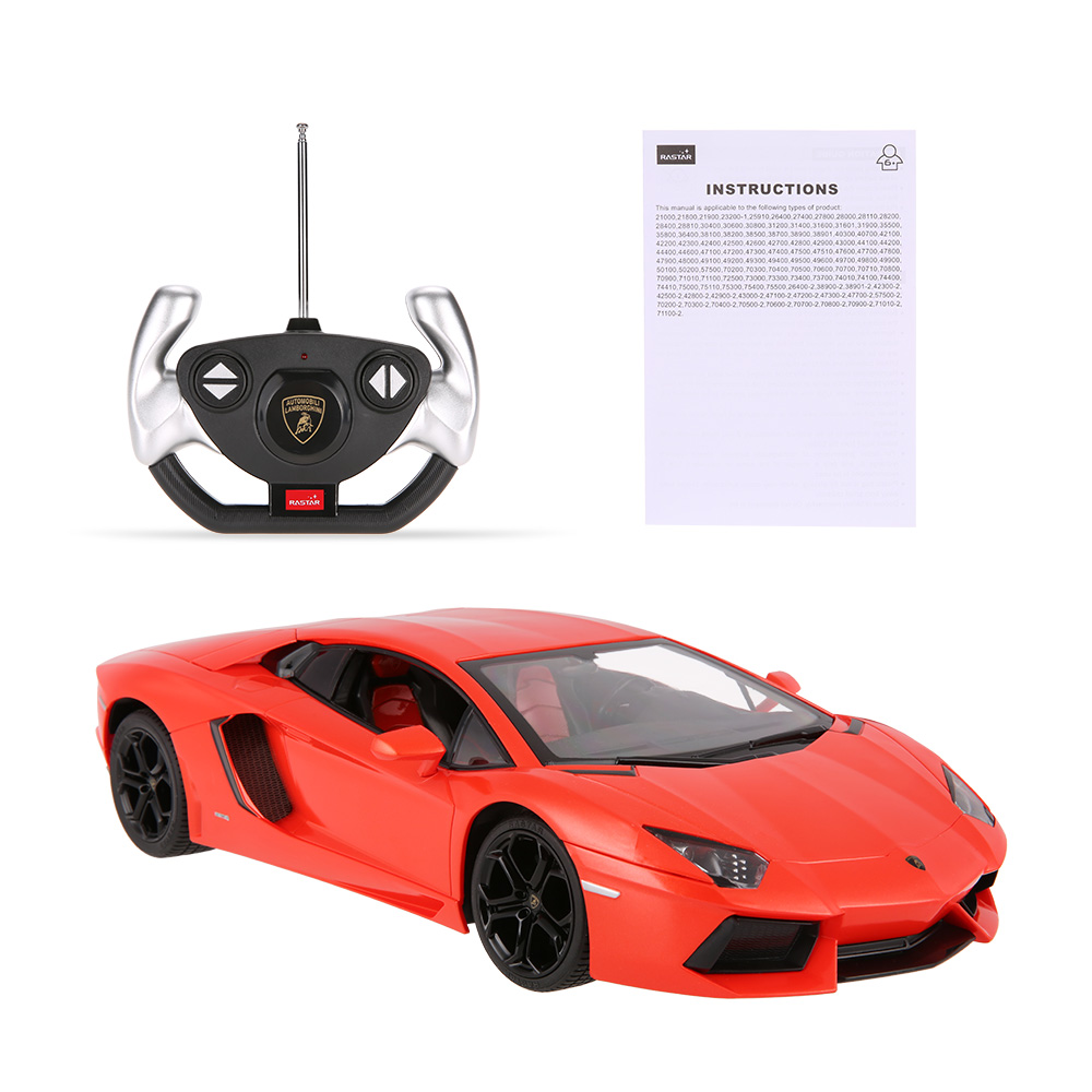 rastar 43000 27mhz r c 1 14 lamborghini aventador lp700. Black Bedroom Furniture Sets. Home Design Ideas