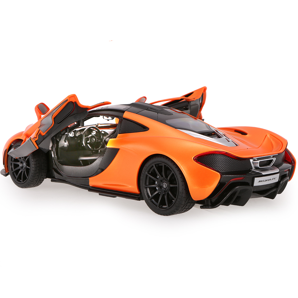 Original RASTAR 75100 27MHz/40Mhz 1/14 McLaren P1 RC Super Sports Car  Simulation Model With Remote Control Door
