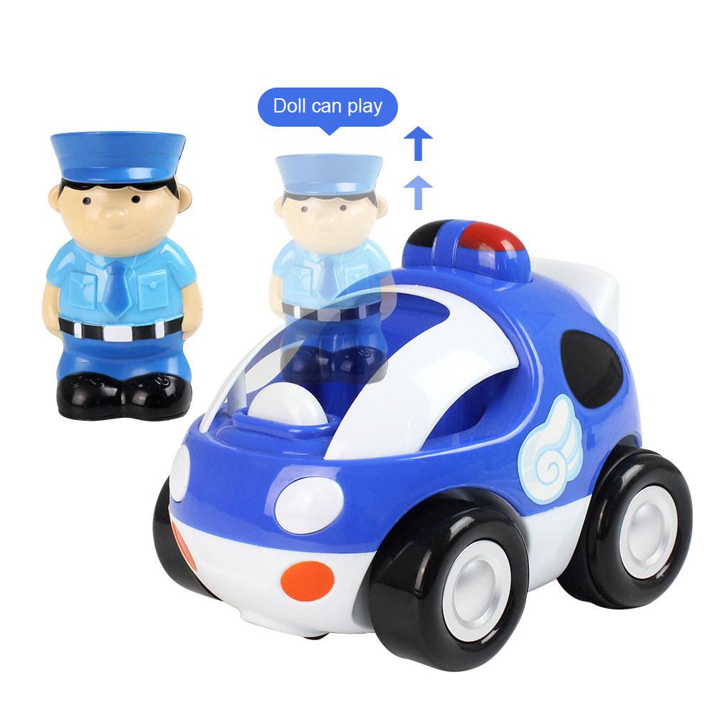Rc auto da corsa dei cartoni animati con musica e luci giocattolo