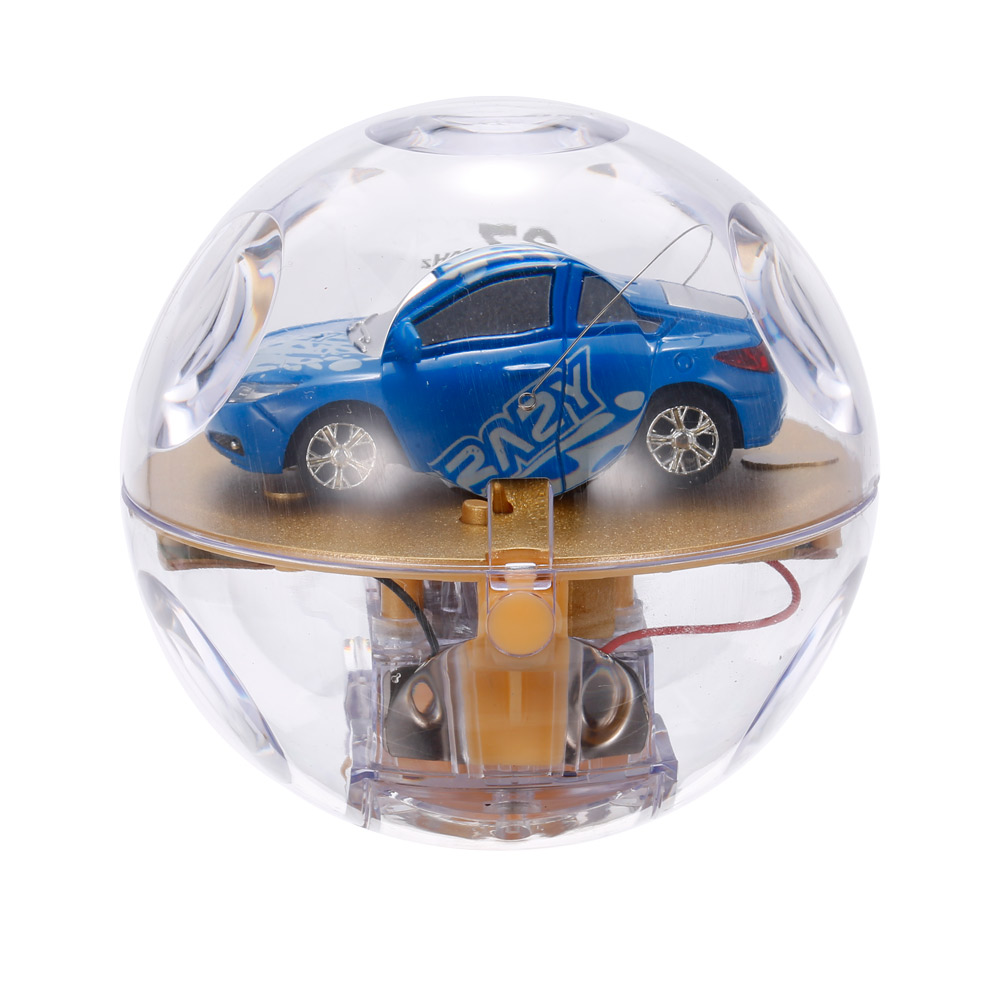 blue great wall toys 2111 1 67 super mini rc car with magnifier sphere package collection toys. Black Bedroom Furniture Sets. Home Design Ideas