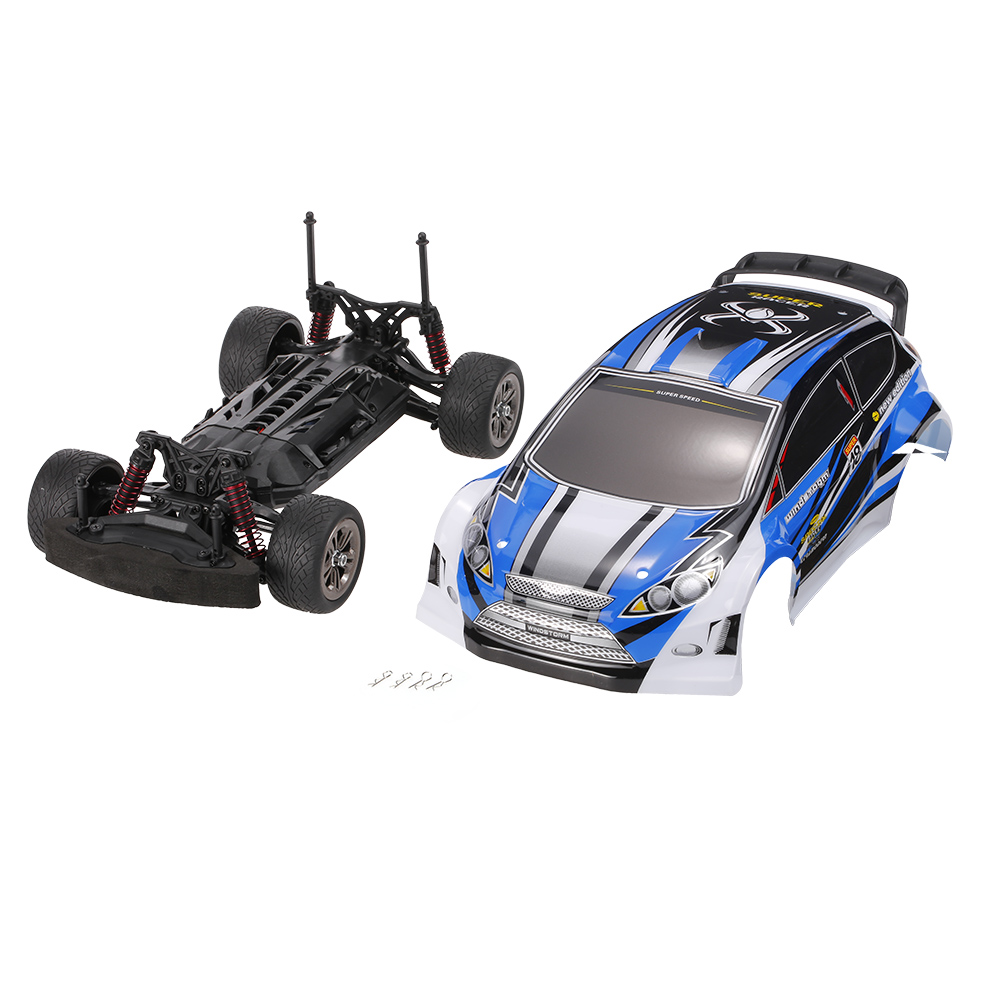 blue XINLEHONG TOYS 9119 2.4GHz 2WD 1/12 Electric RTR High Speed
