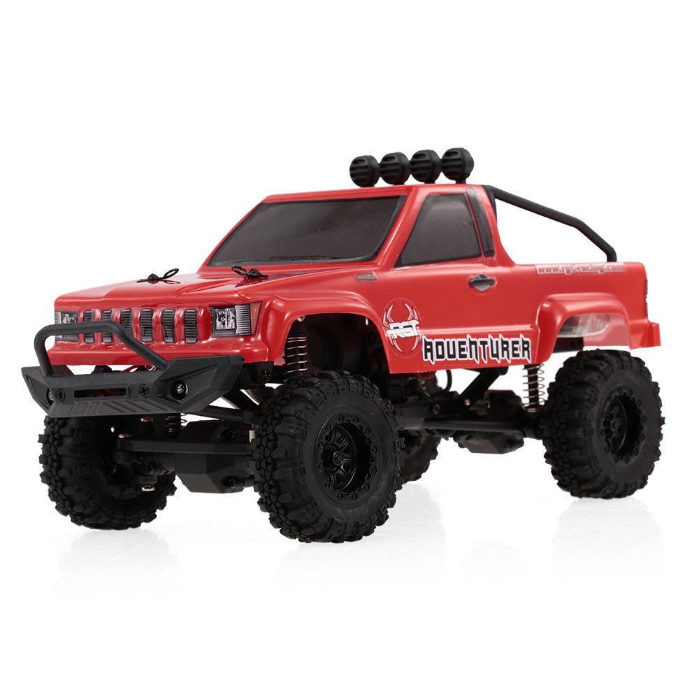 red RGT 136240 1/24 2 4G 4WD 15KM/H RC Rock Crawler Off-road Buggy Car Kids  Toy - RcMoment com