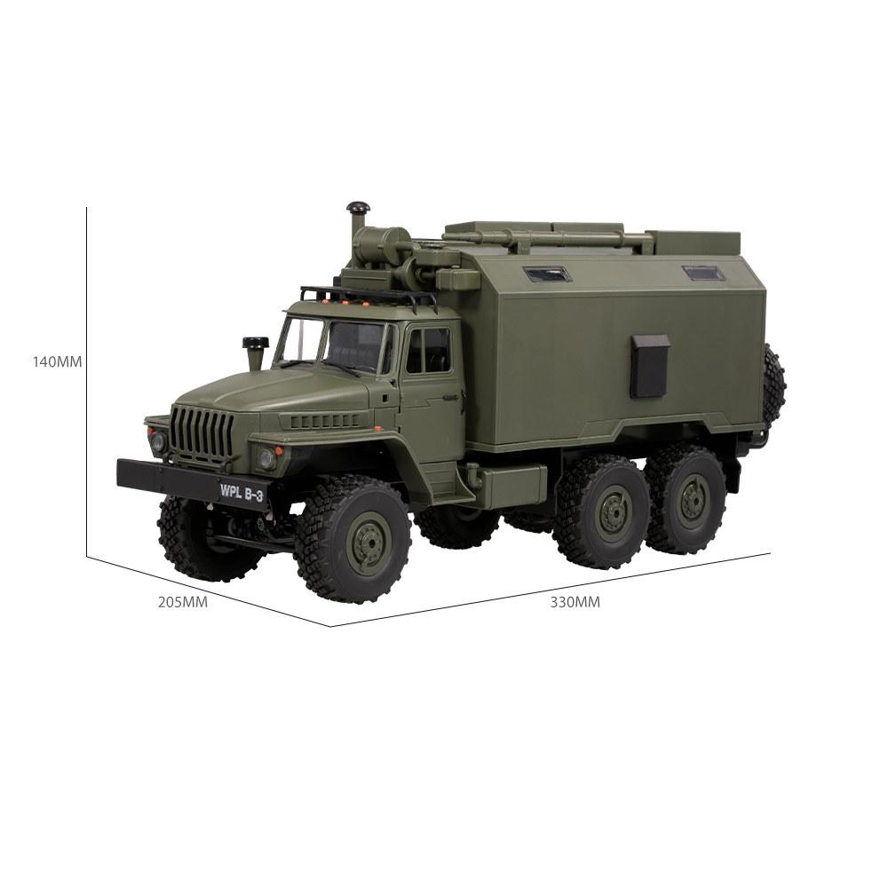 Para Rc Juguete Vehículo 36 Militar 6wd Niños Wpl 1 16 2 Comando 4g Regalo Coche B Ejército Rtr eQrCxBdWoE