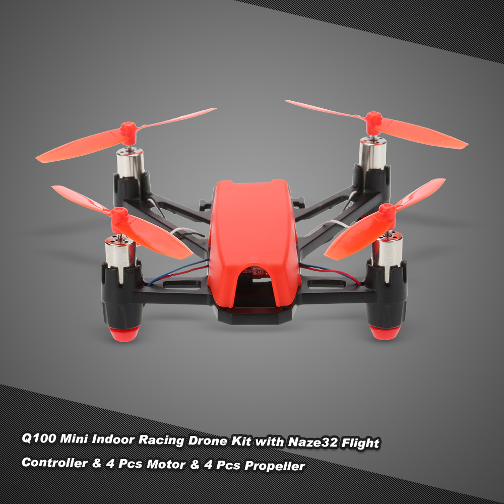 c9f597cc4bc3 Q100 Super Mini 4-Axis Micro FPV Racing Quadcopter Frame Kit with Naze32  Flight Controller 4pcs 8520 Motor and 4pcs 65mm Propeller