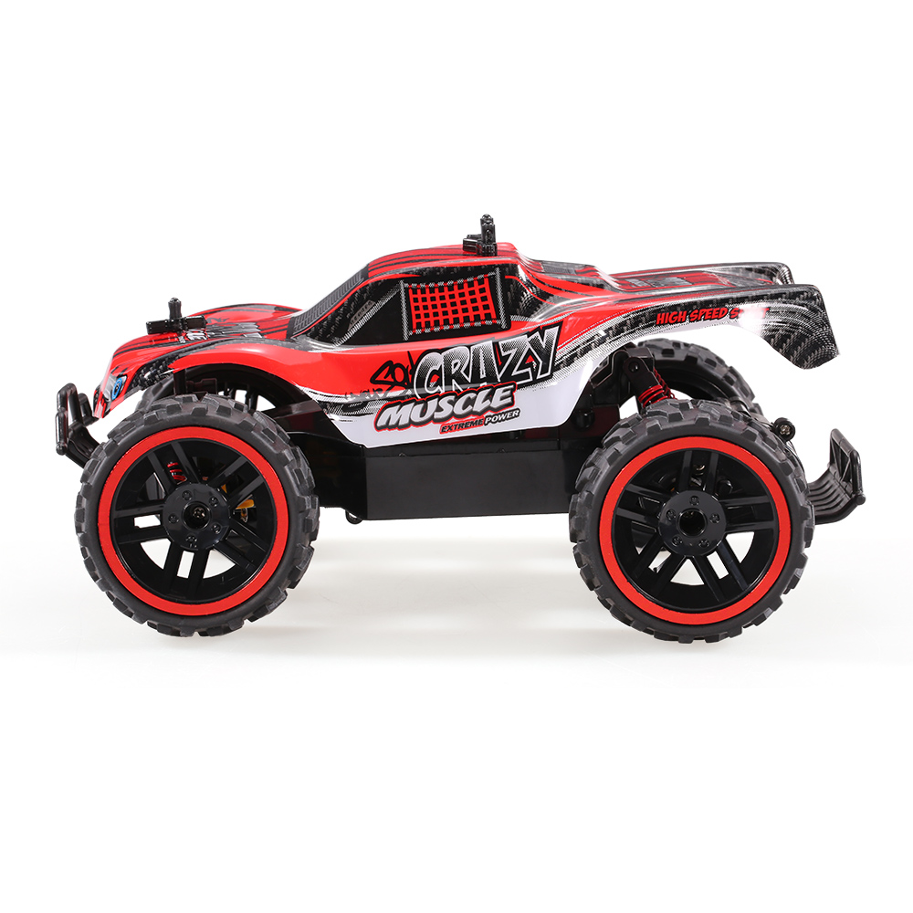 red RUI CHUANG QY1805A 1/16 2 4G 2CH 2WD Electric Off-road Buggy Short  Course Pick-up Truck RC Car - RcMoment com