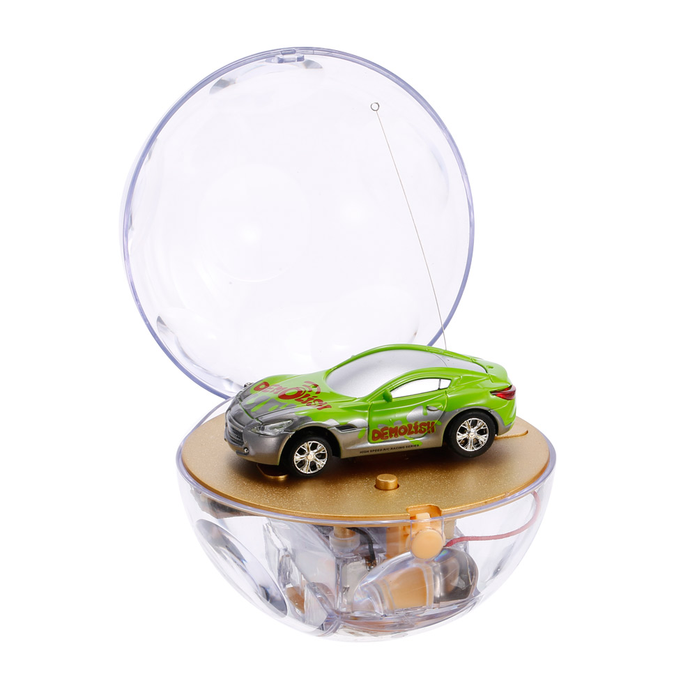 green great wall toys 2111 1 67 super mini rc car with magnifier sphere package collection toys. Black Bedroom Furniture Sets. Home Design Ideas