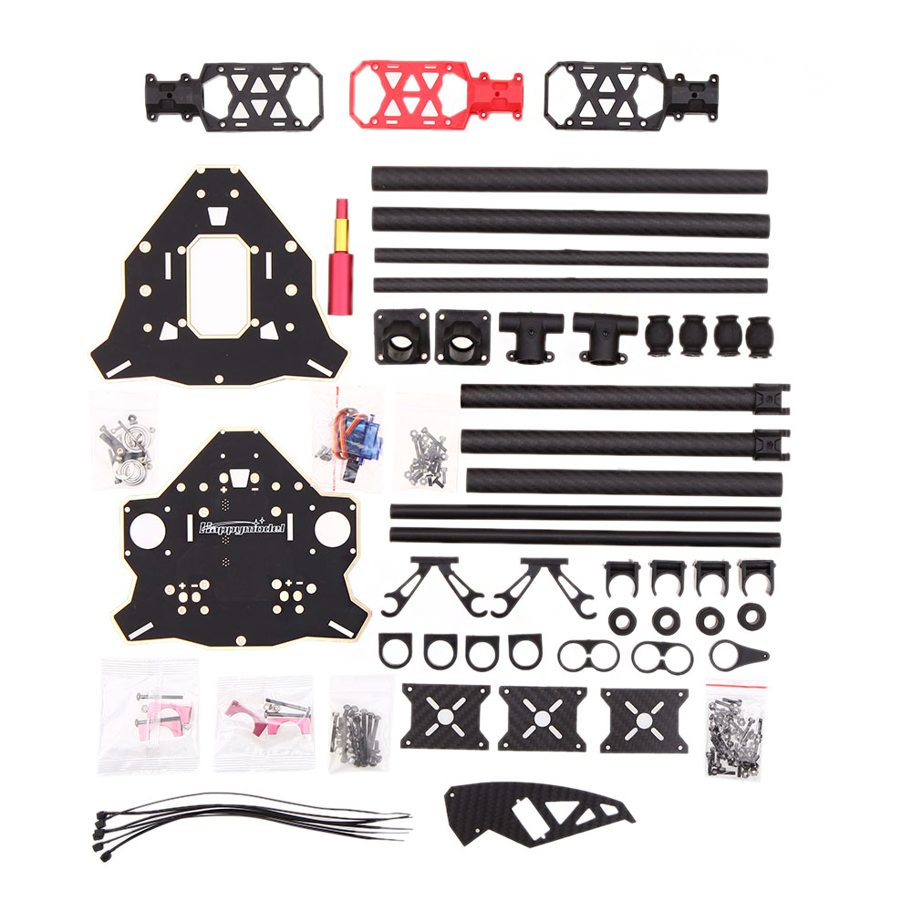 GoolRC Happymodel Y600 3Axis Tricopter Rahmen Tricopter Frame Kit ...