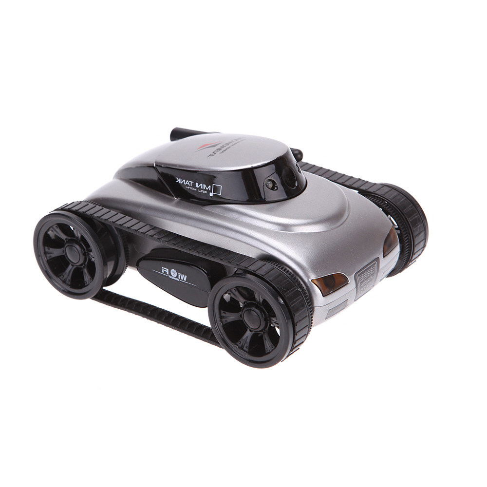goolrc nouveau wifi mini i espion rc tank voiture rc cam ra voitures happy cow 777 270 avec 30w. Black Bedroom Furniture Sets. Home Design Ideas