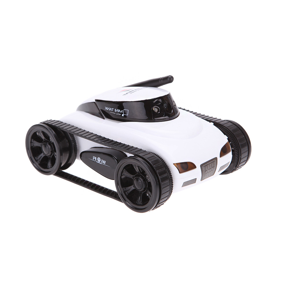 Only $26.99 For New wifi Mini i-spy RC Tank Car with code EJ2455