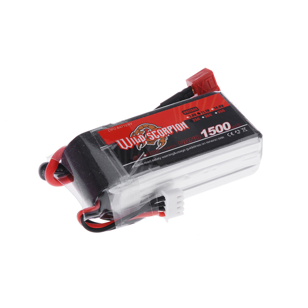 goolrc scorpion sauvage 11 1v 1500mah 25 c max 35c 3 s t prise lipo batterie pour rc voiture. Black Bedroom Furniture Sets. Home Design Ideas