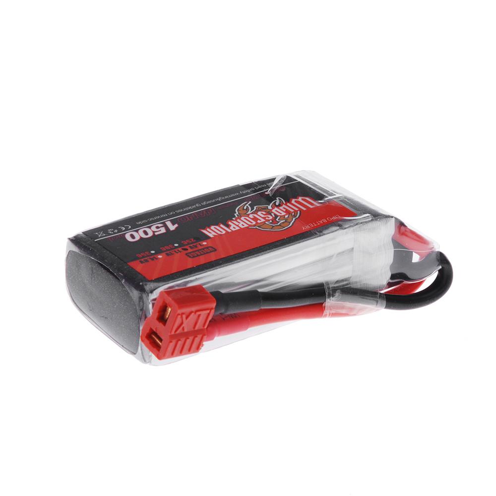 goolrc scorpion sauvage 11 1v 1500mah 25 c max 35c 3 s t prise lipo batterie pour rc voiture. Black Bedroom Furniture Sets. Home Design Ideas