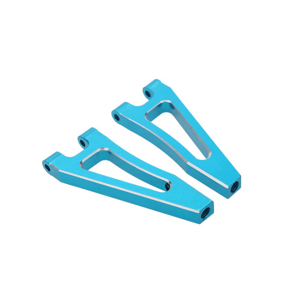 166018 revaloriser pi ces bleu bras de suspension sup rieur avant aluminium pour 1 10 4wd. Black Bedroom Furniture Sets. Home Design Ideas