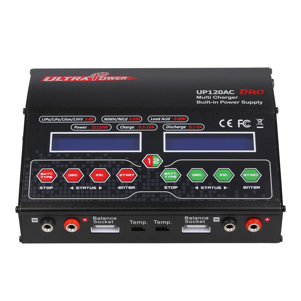 Up120ac de potencia ultra duo 120w 120w liio lipo vida - Cargador de baterias ...