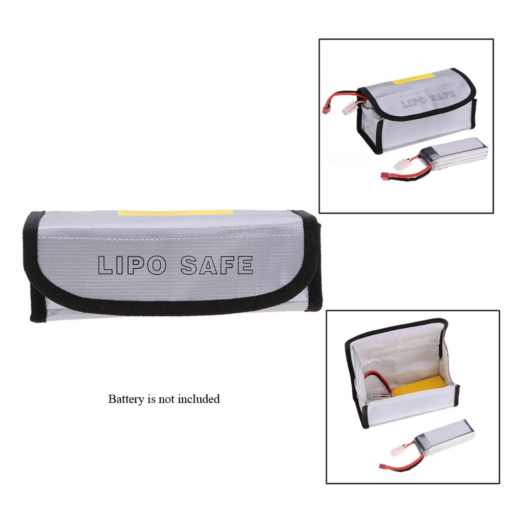 Batería Goolrc Gurad Lipo Prueba Safty Bolso Bag Muiltifunction 60mm Protección A Explosiones 18575 Bolsa Para De nvwN8m0O