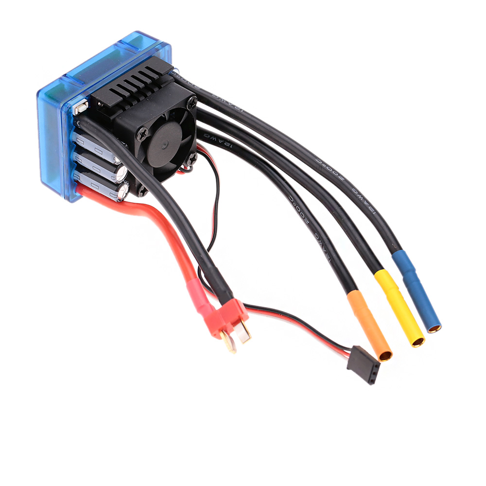 3674 2250kv 4p Sensorless Brushless Motor With 120a Esc Wiring Escelectric Speed Controllerfor 1 8 Rc Car Truck