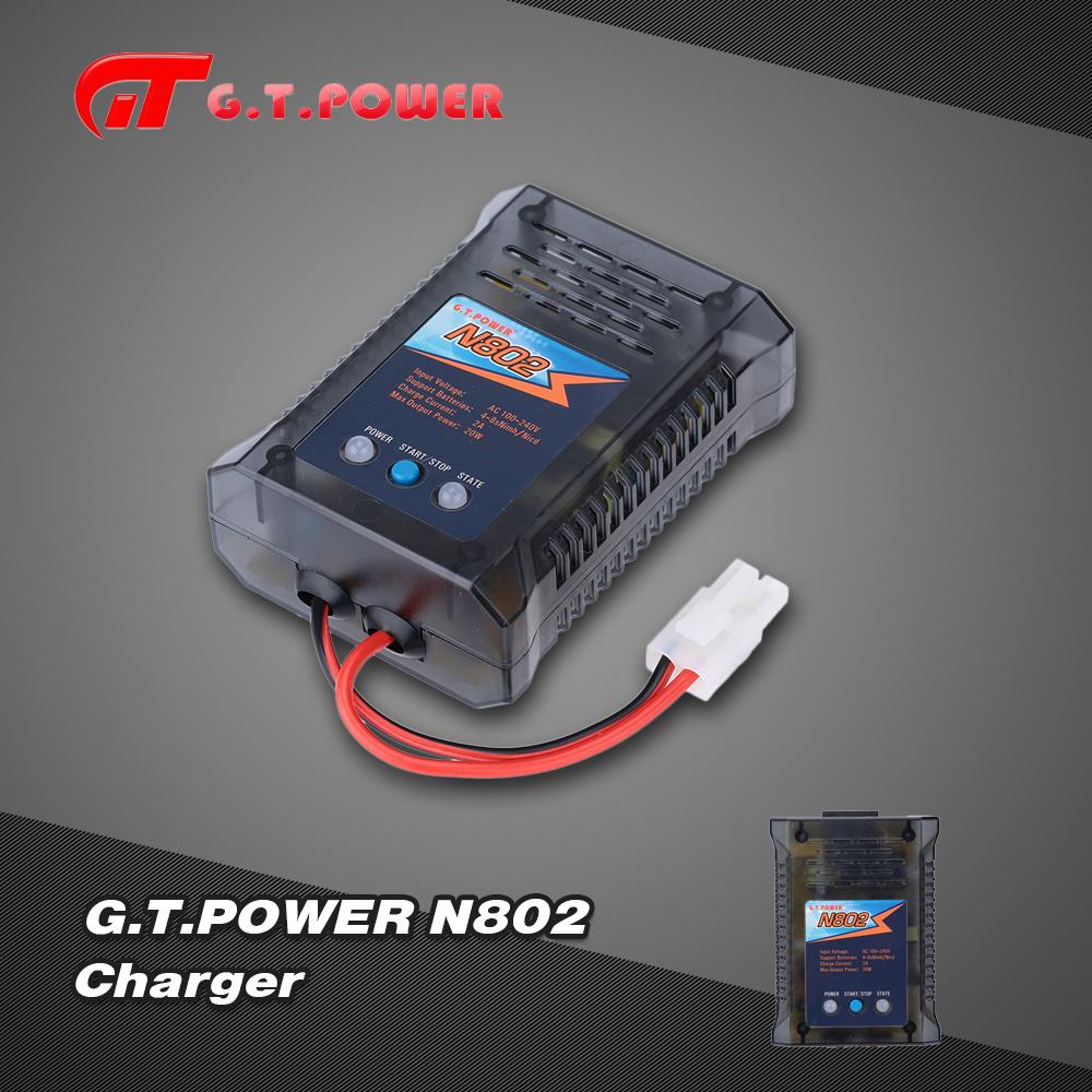 g t power n802 20w 4 8 s nimh nicd chargeur facile pour batterie de voiture rc. Black Bedroom Furniture Sets. Home Design Ideas